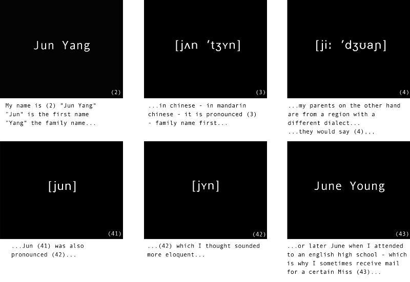 jun yang and... video stills