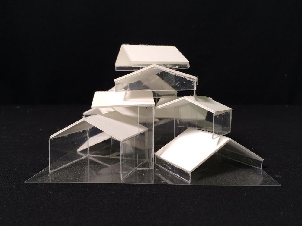 Sou fujimoto vitamin creative space for Architectural concept models