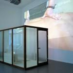 Air Is Good  Video Installation(sauna room)2005